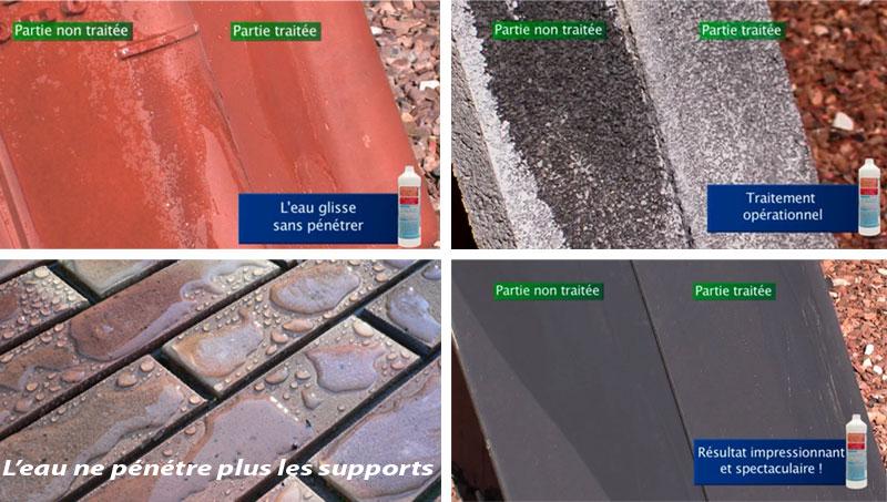 hydrofuge traitement toitures murs et terasses. Black Bedroom Furniture Sets. Home Design Ideas